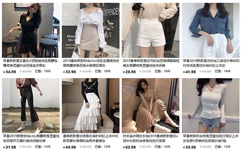 Có 4 trang lớn là Taobao, 1688, Tmall, Alibaba, Aliexpress để đặt hàng Quảng Châu cao cấp
